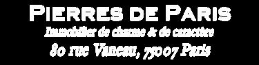 Pierres de Paris